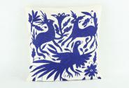 Kissen Otomi blau 40 x 40 cm