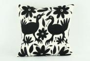 Kissen Otomi schwarz 40 x 40 cm