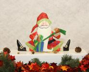Santa Claus sitzend
