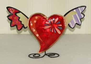Funky Herzen rot klein