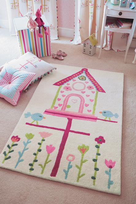 Kinderteppich Harlequin Tweet Home