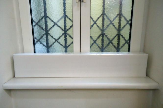 Fensterpolster Kunststoff