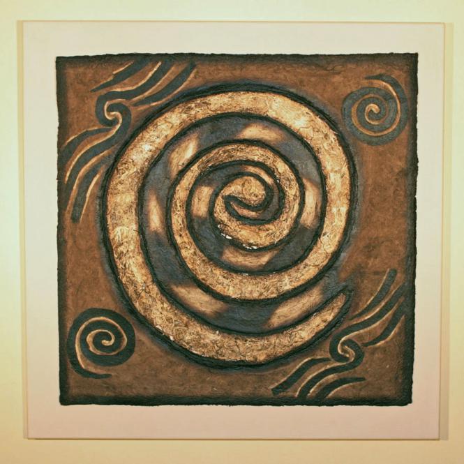 """Bild """"Der große Kreis"""" 70 x 70 cm"""